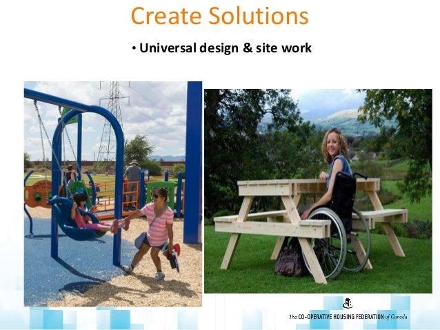Create Solutions • Universal design & site work