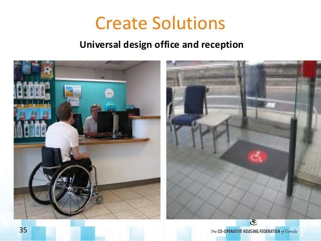 Create Solutions Universal design office and reception 35