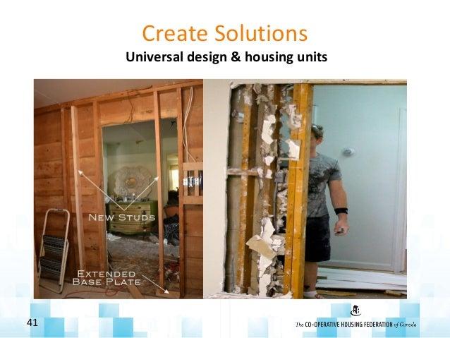 Create Solutions Universal design & housing units 41