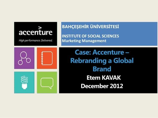 INSTITUTE OF SOCIAL SCIENCESMarketing Management
