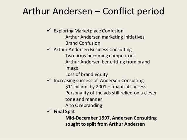 arthur andersen scandal case study Waste management case study examination of fraud southern new hampshire arthur andersen arthur andersen consistently found the errors in wm's accounting.