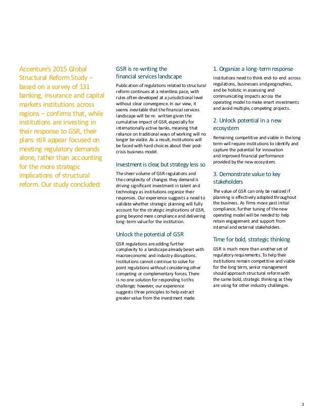 Accenture 2015 Global Structural Reform Study Slide 3