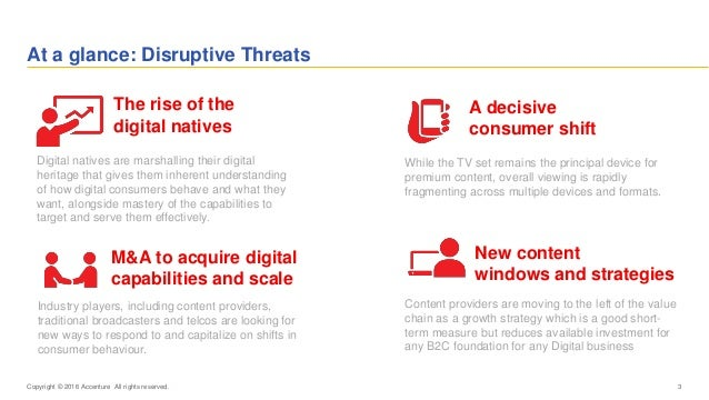At a glance: Disruptive Threats 3 Digital natives are marshalling their digital heritage that gives them inherent understa...