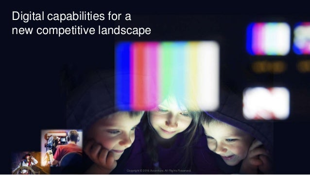 4Copyright © 2015 Accenture All rights reserved. Digital capabilities for a new competitive landscape Copyright © 2016 Acc...