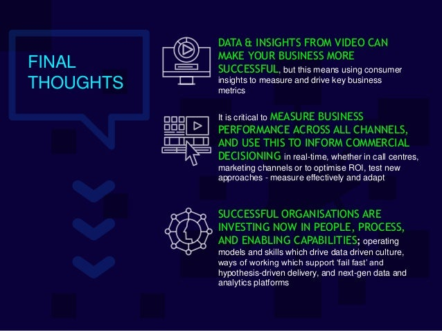 DATA & INSIGHTS FROM VIDEO CAN MAKE YOUR BUSINESS MORE SUCCESSFUL, but this means using consumer insights to measure and d...