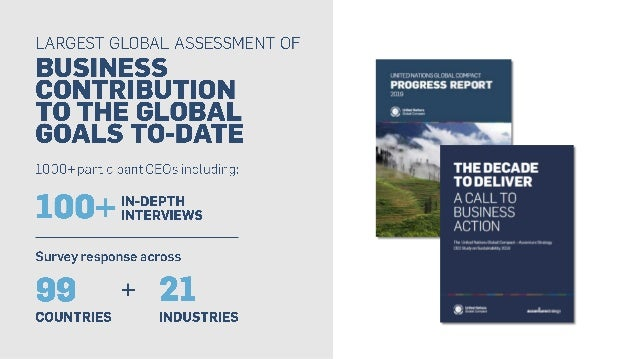 The Decade to Deliver: A Call to Business Action  Slide 3