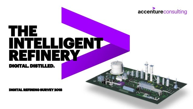 Copyright © 2018 Accenture. All rights reserved. THE INTELLIGENT REFINERYDIGITAL. DISTILLED. DIGITAL REFINING SURVEY 2018