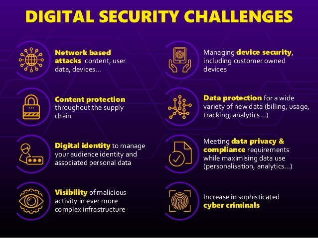 DIGITAL SECURITY CHALLENGES Network based attacks content, user data, devices… Visibility of malicious activity in ever mo...