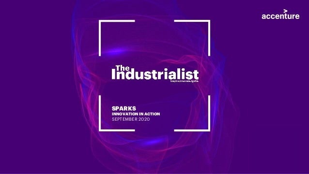 SPARKS INNOVATION IN ACTION SEPTEMBER 2020