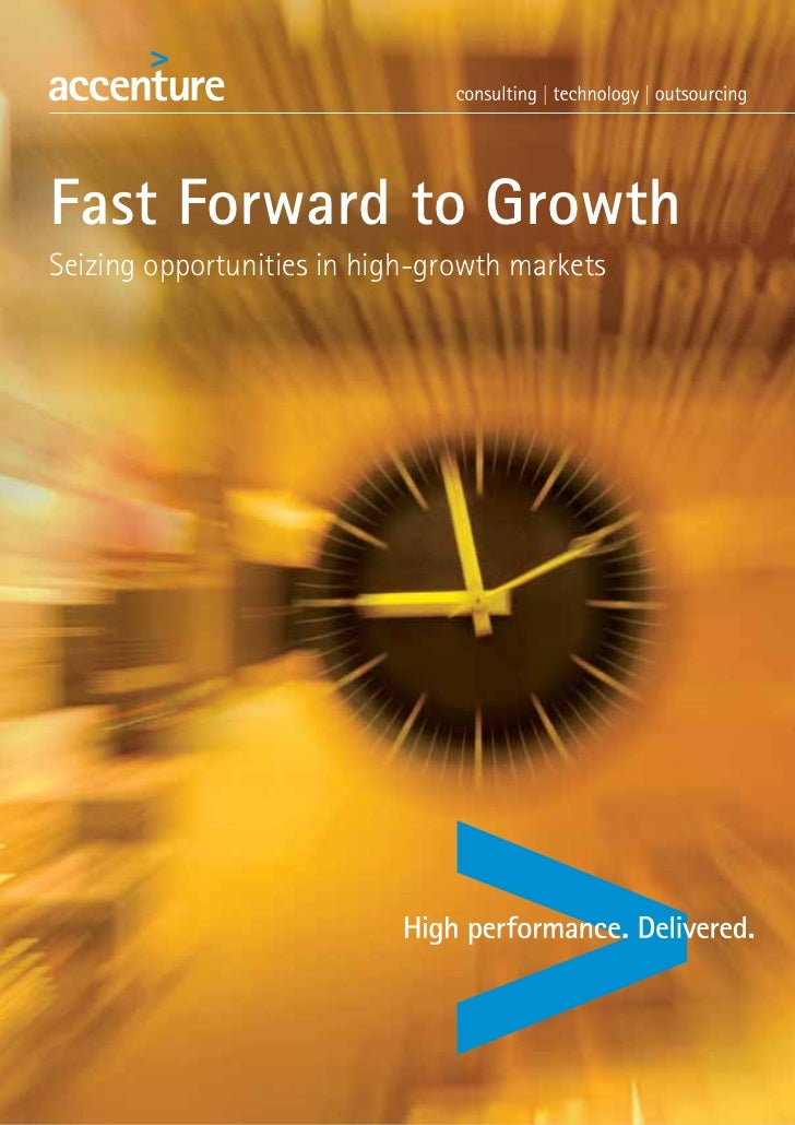 Fast Forward to GrowthSeizing opportunities in high-growth markets