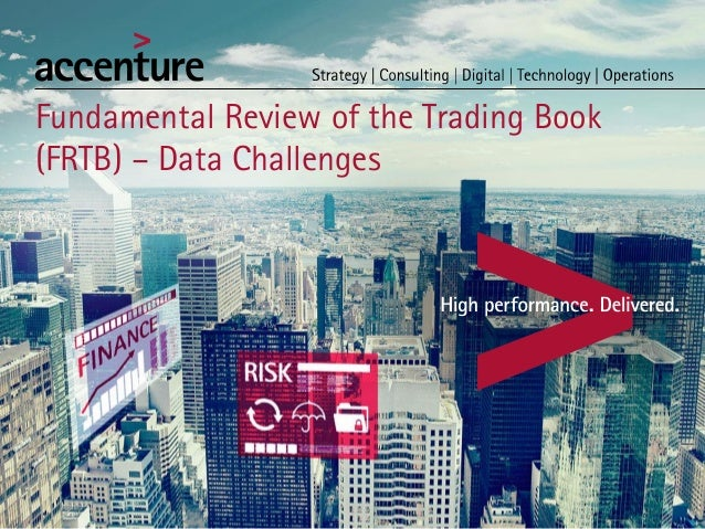 Fundamental Review of the Trading Book (FRTB) – Data Challenges