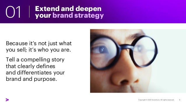 Extend and deepen your brand strategy Because it's not just what you sell; it's who you are. Tell a compelling story that ...