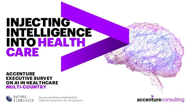 ACCENTURE EXECUTIVE SURVEY ON AI IN HEALTHCARE MULTI-COUNTRY INJECTING INTELLIGENCE INTOHEALTH CARE Survey analysis presen...