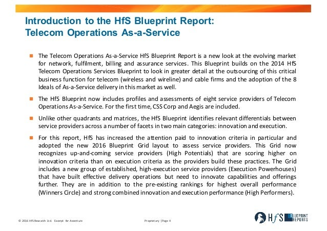 Accenture hf s blueprint report telecom operations as a service excer executive summary 4 malvernweather Image collections