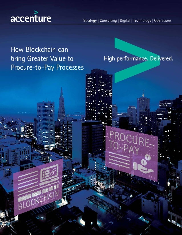 How Blockchain can bring Greater Value to Procure-to-Pay Processes