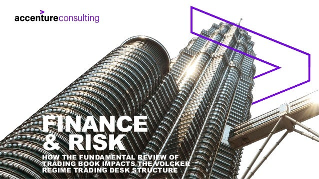 HOW THE FUNDAMENTAL REVIEW OF TRADING BOOK IMPACTS THE VOLCKER REGIME TRADING DESK STRUCTURE FINANCE & RISK