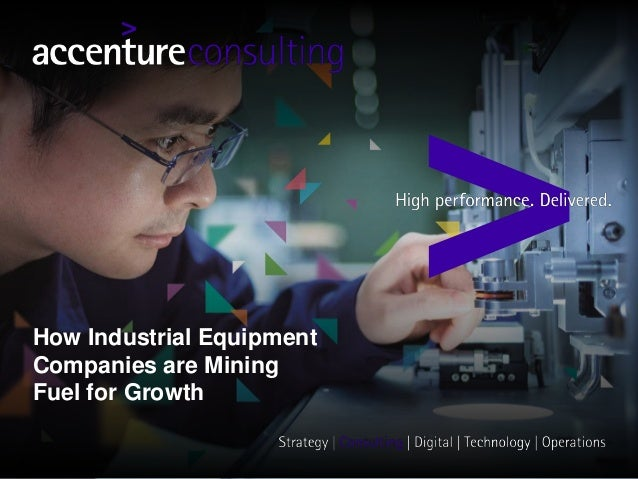 How Industrial Equipment Companies are Mining Fuel for