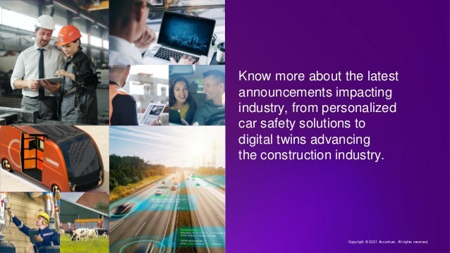 Know more about the latest announcements impacting industry, from personalized car safety solutions to digital twins advan...