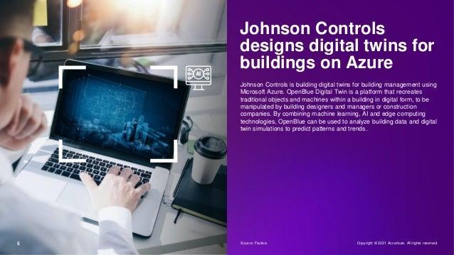 Johnson Controls designs digital twins for buildings on Azure Johnson Controls is building digital twins for building mana...