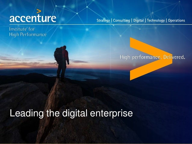 Leading the digital enterprise