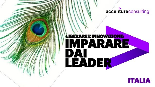 IMPARARE DAI LEADER LIBERARE L'INNOVAZIONE: ITALIA
