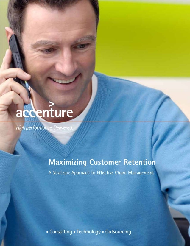 Maximizing Customer RetentionA Strategic Approach to Effective Churn Management