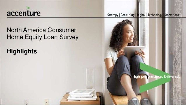 North America Consumer Home Equity Loan Survey Highlights