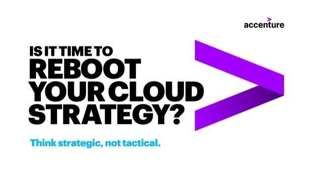 Is it Time to Reboot Your Cloud Strategy - Journey to Cloud