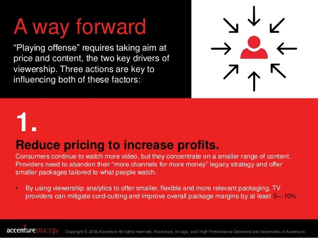 """A way forward """"Playing offense"""" requires taking aim at price and content, the two key drivers of viewership. Three actions..."""