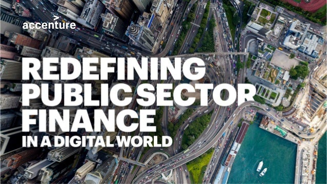 Are public sector finance leaders lagging their private sector peers? Accenture's research suggests nothing could be Copyr...