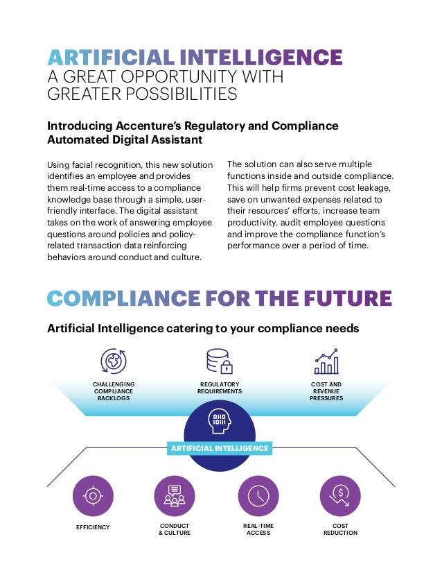 Regulatory Compliance: Automated Digital Assistant Slide 2