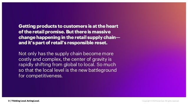Getting products to customers is at the heart of the retail promise. But there is massive change happening in the retail s...