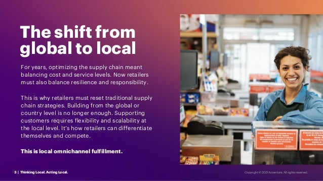 For years, optimizing the supply chain meant balancing cost and service levels. Now retailers must also balance resilience...