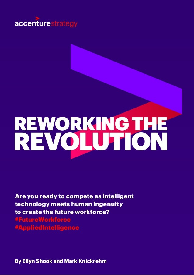 By Ellyn Shook and Mark Knickrehm Are you ready to compete as intelligent technology meets human ingenuity to create the f...