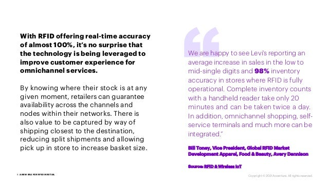 With RFID offering real-time accuracy of almost 100%, it's no surprise that the technology is being leveraged to improve c...