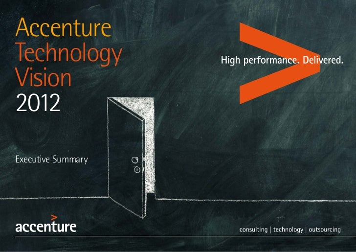 AccentureTechnologyVision2012Executive Summary