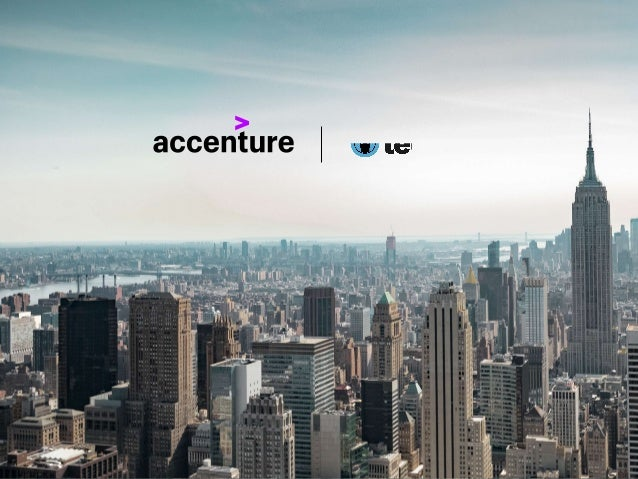 | COPYRIGHT © 2018 ACCENTURE. ALL RIGHTS RESERVED. ACCENTURE, ITS LOGO, AND HIGH PERFORMANCE DELIVERED ARE TRADEMARKS OF A...
