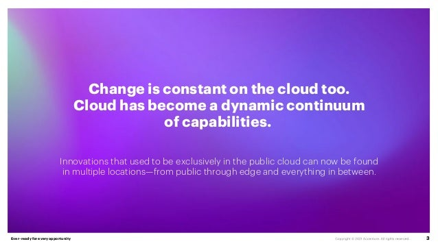 Unleashing Competitiveness on the Cloud Continuum   Accenture Slide 3