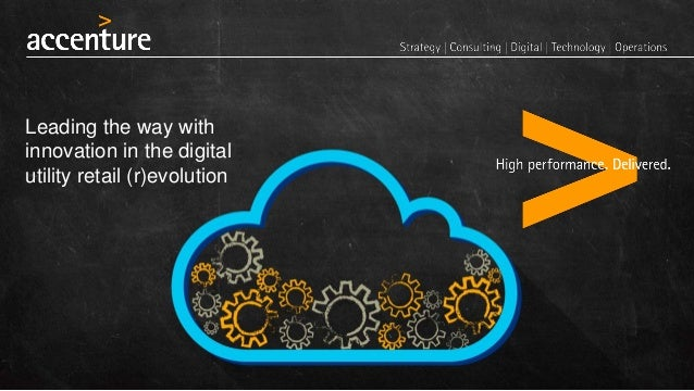 Leading the way with innovation in the digital utility retail (r)evolution