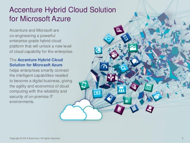 3  Copyright © 2014 Accenture All rights reserved.  Accenture and Microsoft are co-engineering a powerful enterprise-grade...