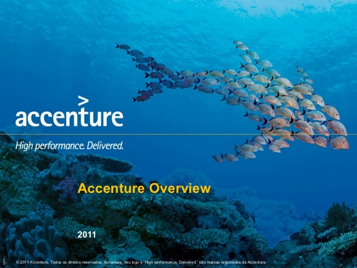 Accenture Overview 2011