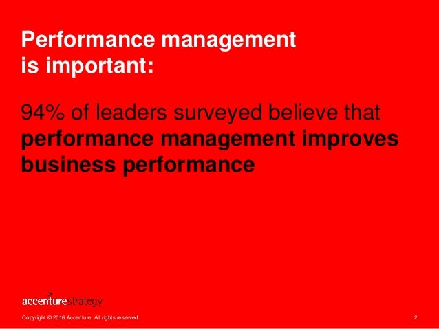Is Performance Management Performing? Slide 2