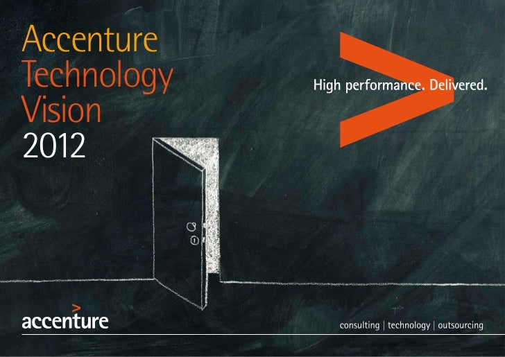 Accenture Technology Vision 2012 Final