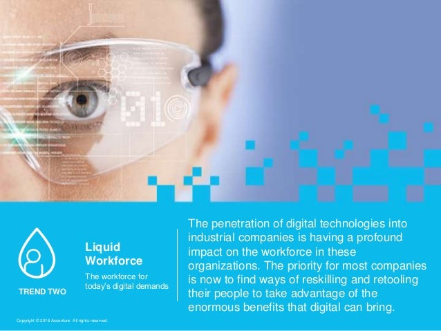 The penetration of digital technologies into industrial companies is having a profound impact on the workforce in these or...