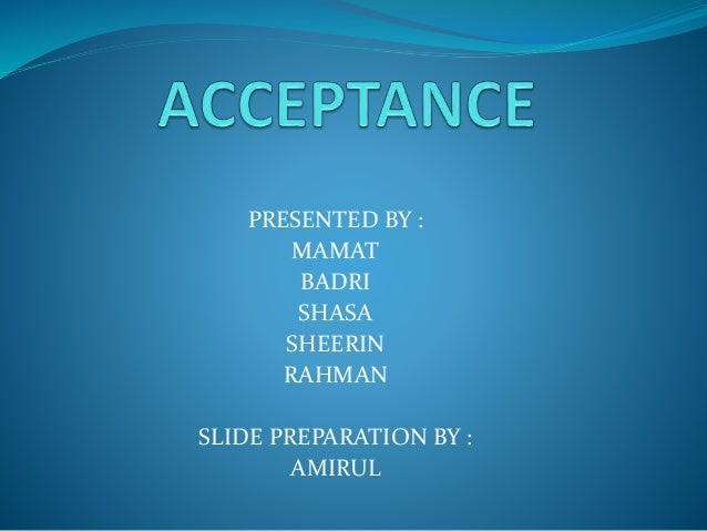 acceptance in contract law pdf