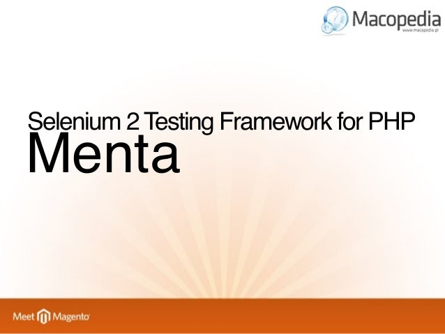 Abstract test class ProjectY_Abstract_TestCase  Menta_PHPUnit_Testcase_Selenium2  PHPUnit_Framework_TestCase  Very thin la...