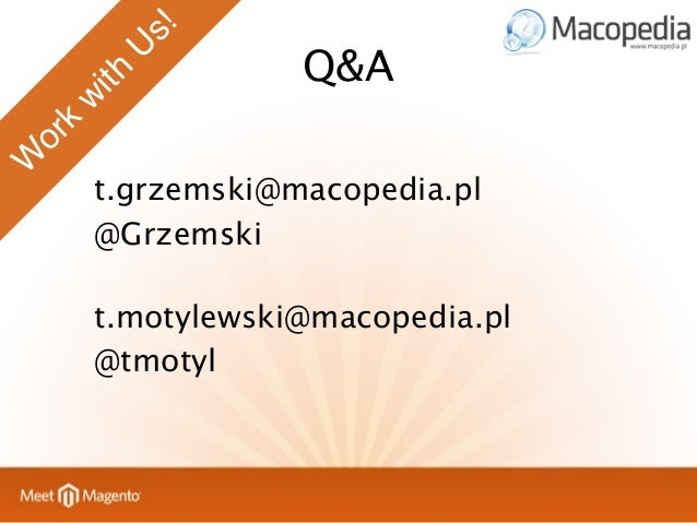 MeetMagento - Acceptance tests in Magento