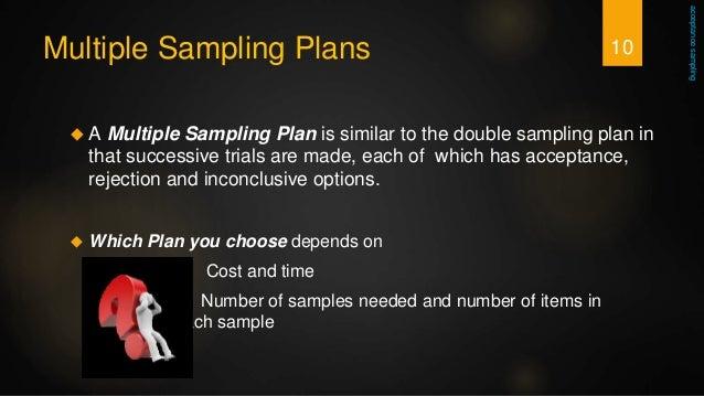 multiple sampling plan