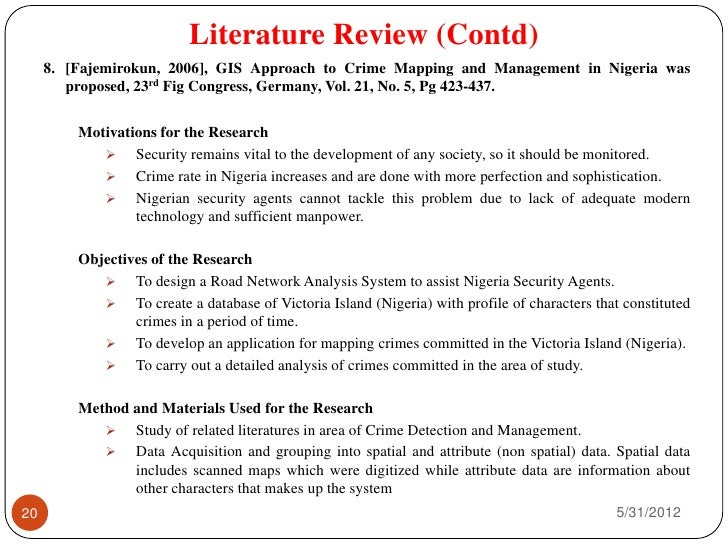 System movie literature review