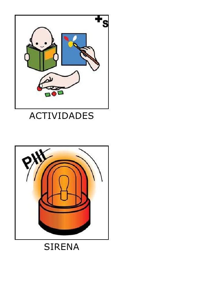 ACTIVIDADES  SIRENA